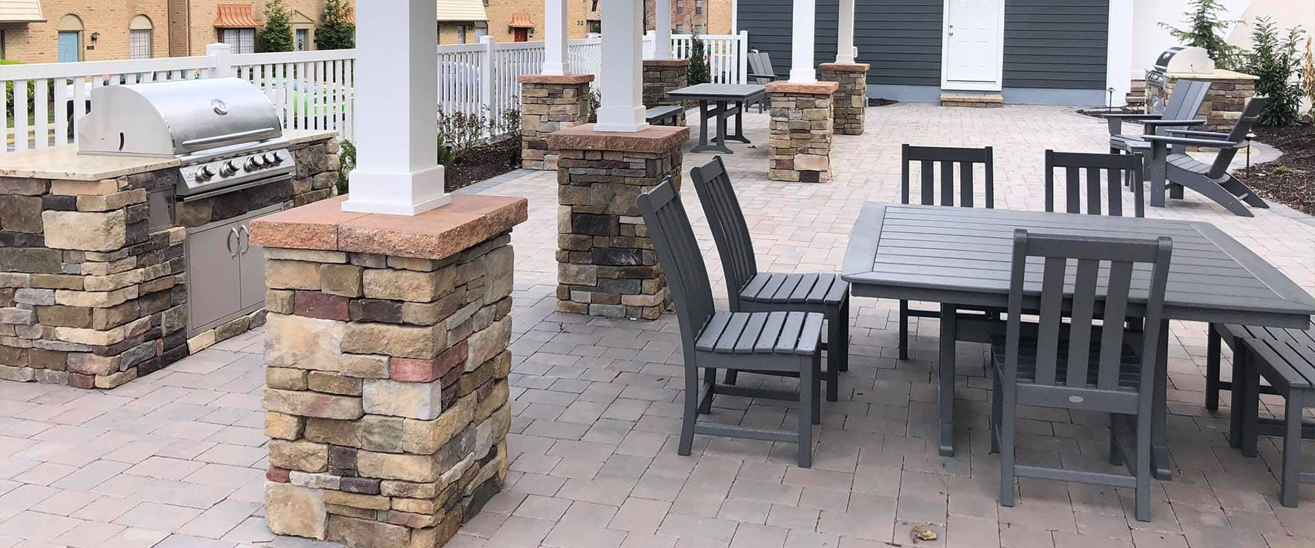 Commercial Hardscaping Installation