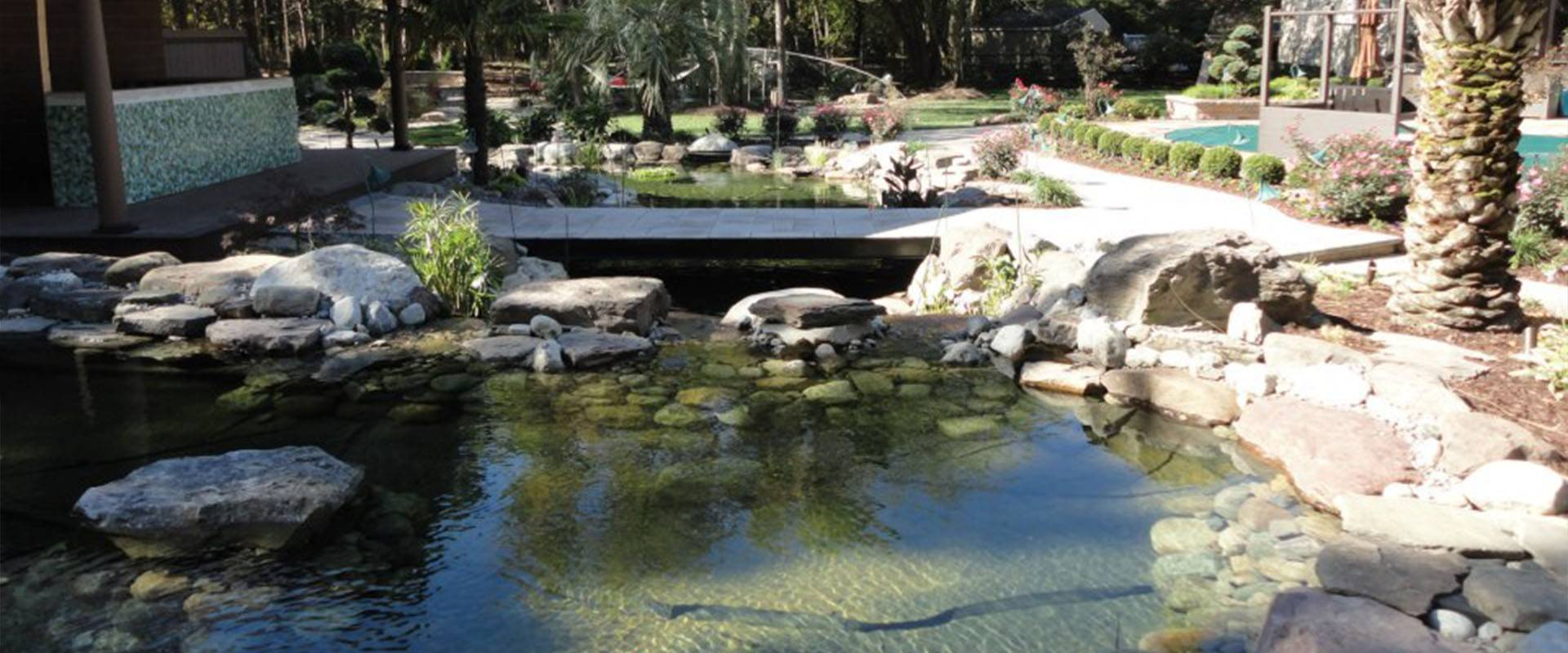 Residential Waterscaping & Ponds
